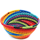 African Basket - Zulu Wire - Small Triangular Bowl #75707