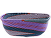 African Basket - Zulu Wire - Square Bowl #76689