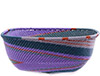 African Basket - Zulu Wire - Square Bowl #76690