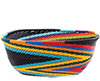 African Basket - Zulu Wire - Square Bowl #76694
