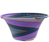 African Basket - Zulu Wire - Small Flared Bowl #76697