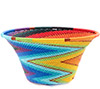 African Basket - Zulu Wire - Small Flared Bowl #76700