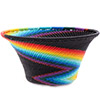 African Basket - Zulu Wire - Small Flared Bowl #76701