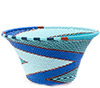 African Basket - Zulu Wire - Small Flared Bowl #76703