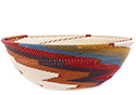 African Basket - Zulu Wire - Bowl #76709