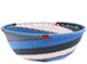 African Basket - Zulu Wire - Small Wide Bowl #76718