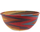 African Basket - Zulu Wire - Extra Large Bowl #77151