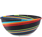 African Basket - Zulu Wire - Extra Large Bowl #77152