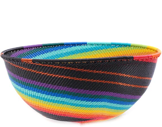 African Basket - Zulu Wire - Extra Large Bowl #77153