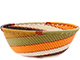 African Basket - Zulu Wire - Small Wide Bowl #77233
