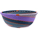 African Basket - Zulu Wire - Small Wide Bowl #77235