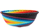 African Basket - Zulu Wire - Small Wide Bowl #77244