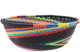 African Basket - Zulu Wire - Small Wide Bowl #77245