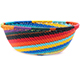 African Basket - Zulu Wire - Small Wide Bowl #77247