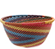 African Basket - Zulu Wire - Small Bowl #77323