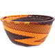 African Basket - Zulu Wire - Small Bowl #77332