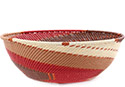 African Basket - Zulu Wire - Bowl #77347