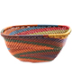 African Basket - Zulu Wire - Small Square Bowl #78024