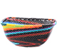 African Basket - Zulu Wire - Small Square Bowl #78025