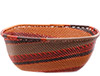 African Basket - Zulu Wire - Square Bowl #78031