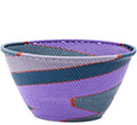 African Basket - Zulu Wire - Deep Bowl #78032
