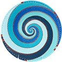 African Basket - Zulu Wire - Shallow Bowl #78048