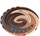 African Basket - Zulu Wire - Small Shallow Oval #78059