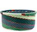 African Basket - Zulu Wire - Small Bowl with Straight Sides #78074