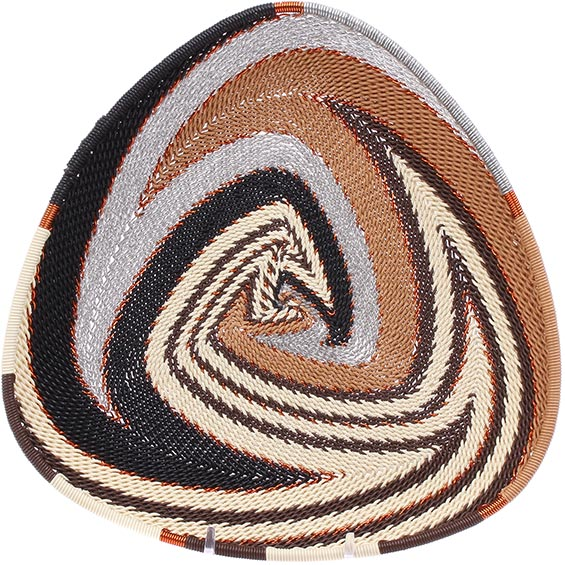 African Basket - Zulu Wire - Shallow Triangle #78670