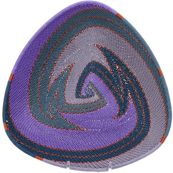 African Basket - Zulu Wire - Shallow Triangle #78673