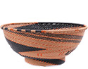 African Basket - Zulu Wire - Bowl with Base #78684