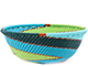 African Basket - Zulu Wire - Small Wide Bowl #78697