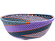 African Basket - Zulu Wire - Small Wide Bowl #78708