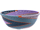 African Basket - Zulu Wire - Small Wide Bowl #78709