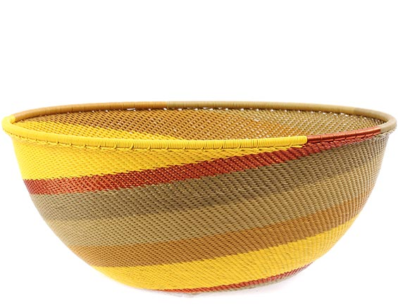 African Basket - Zulu Wire - Extra Large Bowl #78715