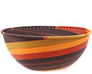 African Basket - Zulu Wire - Extra Large Bowl #78716