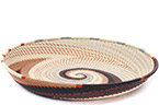 African Basket - Zulu Wire - Short Bowl #78741