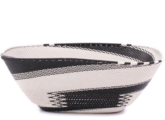 African Basket - Zulu Wire - Extra Large Square Bowl #79316