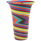 African Basket - Zulu Wire - Flared Top Vase #79318
