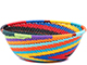African Basket - Zulu Wire - Small Wide Bowl #79356