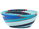 African Basket - Zulu Wire - Small Wide Bowl #79402