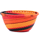 African Basket - Zulu Wire - Small Bowl #79422