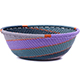 African Basket - Zulu Wire - Small Wide Bowl #79439