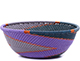 African Basket - Zulu Wire - Small Wide Bowl #79440
