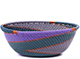 African Basket - Zulu Wire - Small Wide Bowl #79441