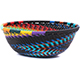 African Basket - Zulu Wire - Small Wide Bowl #79451