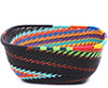 African Basket - Zulu Wire - Square Bowl #79468