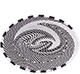 African Basket - Zulu Wire - Small Shallow Oval #79474