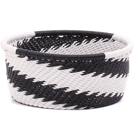 African Basket - Zulu Wire - Small Bowl with Straight Sides #79482