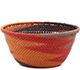 African Basket - Zulu Wire - Small Bowl #79489
